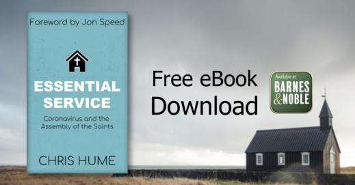 Facebook ad 1 church cloudy sky background ebook free